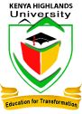 KENYA HIGHLANDS UNIVERSITY E-LEARNING Portal